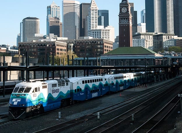The Sounder, nearby transportation to Stadium Place