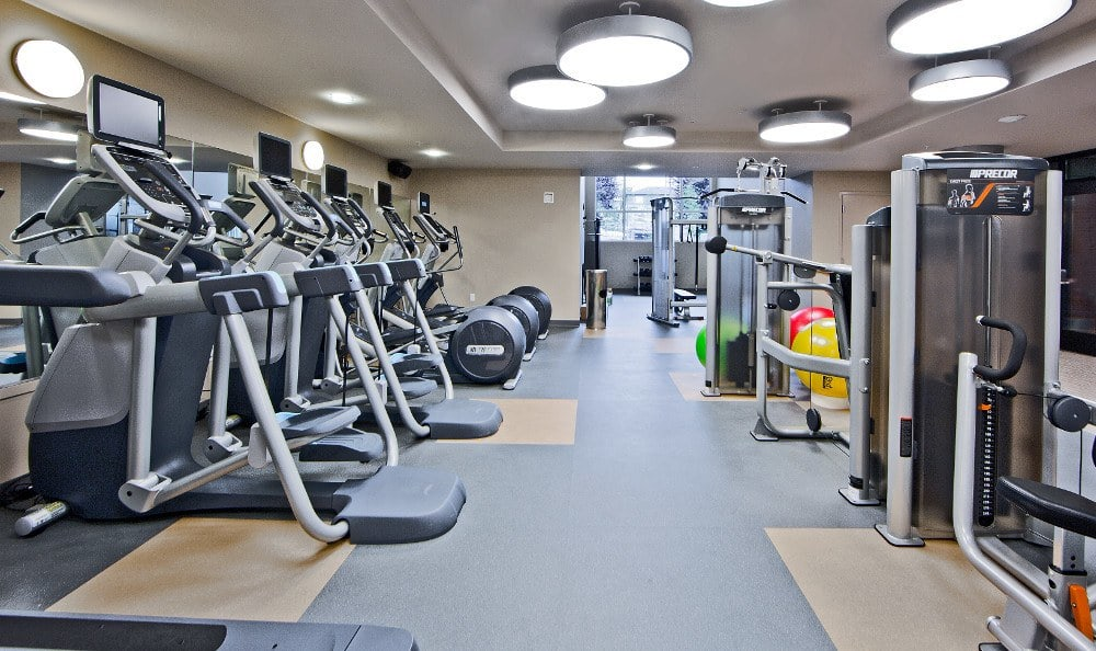 Fitness Center at The Lyric.