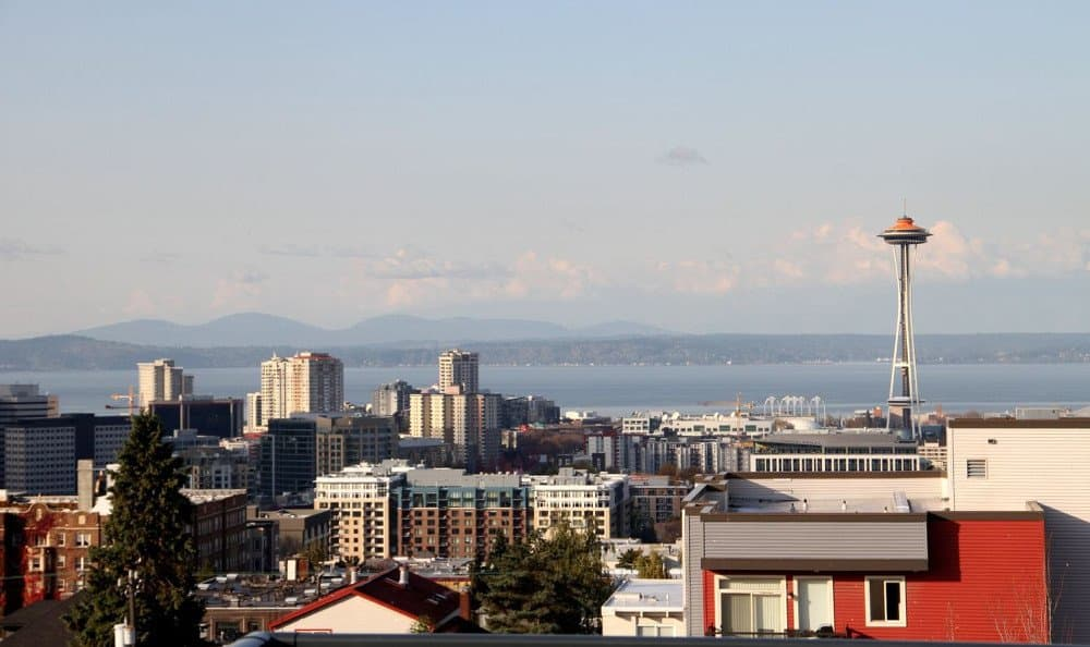 View Of Seattle from The Lyric