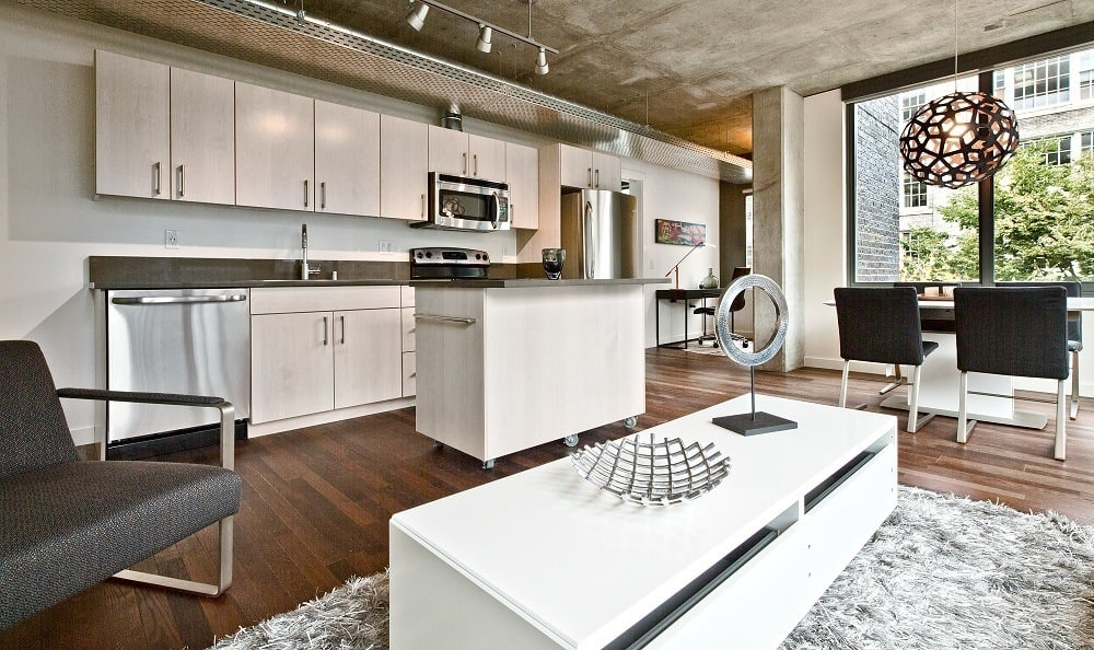 Our Apartments in Seattle, Washington showcase a Luxury Kitchen