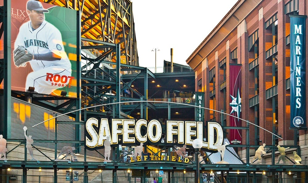 Safeco field near The Nolo at Stadium Place in Seattle, Washington