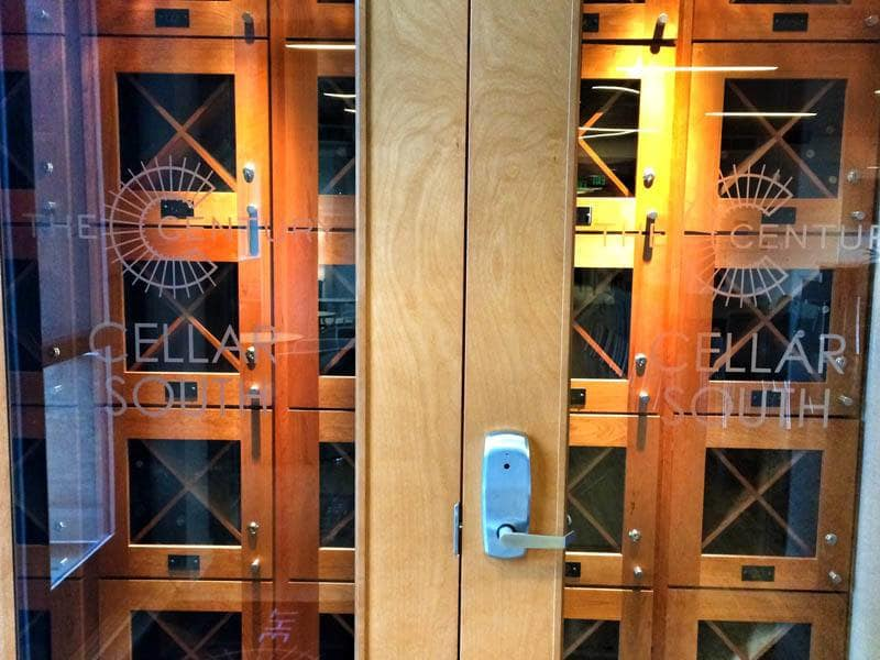 Wine Storage at The Century