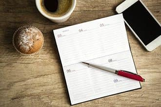 Event calendar for Lexington Place.