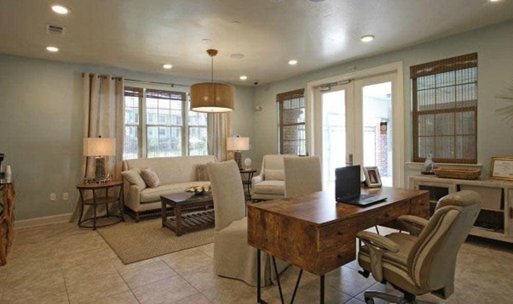 Beautiful spacious living room at Cameron Isles Apartments in Houma, LA