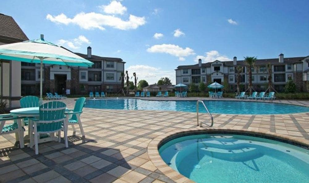 Enjoy the spa at Cameron Isles Apartments in Houma, LA