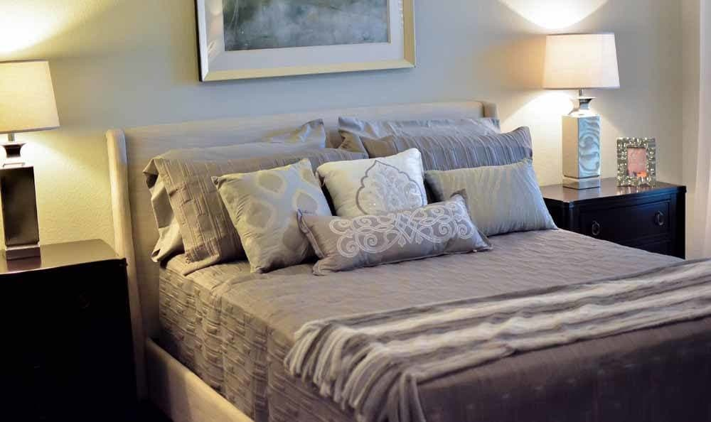 Spacious bedrooms at Villa Broussard in Broussard, LA