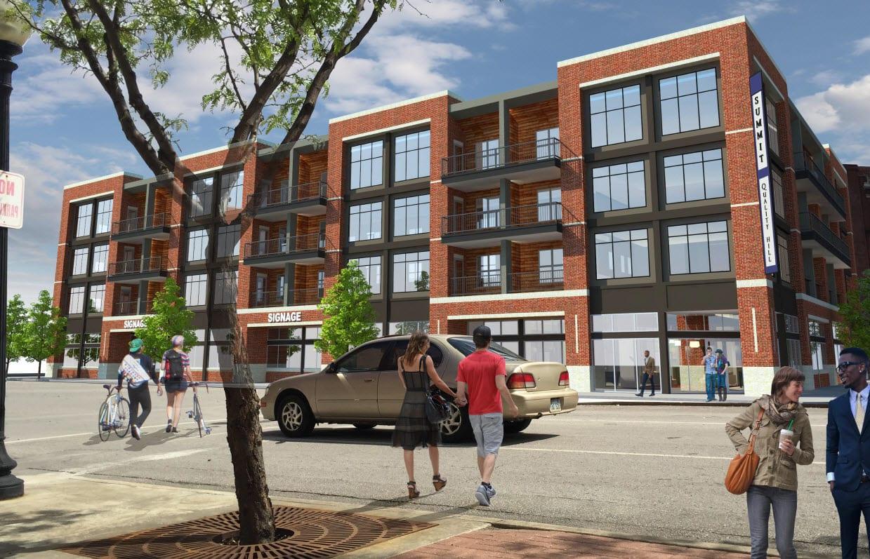 New Quality Hill Apartments Kansas City