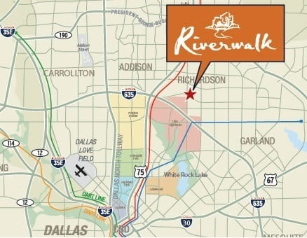 view our location map of apartments in Texas