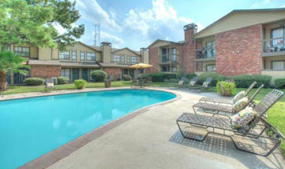 Enjoy the sunshine by the pool at Dover Pointe