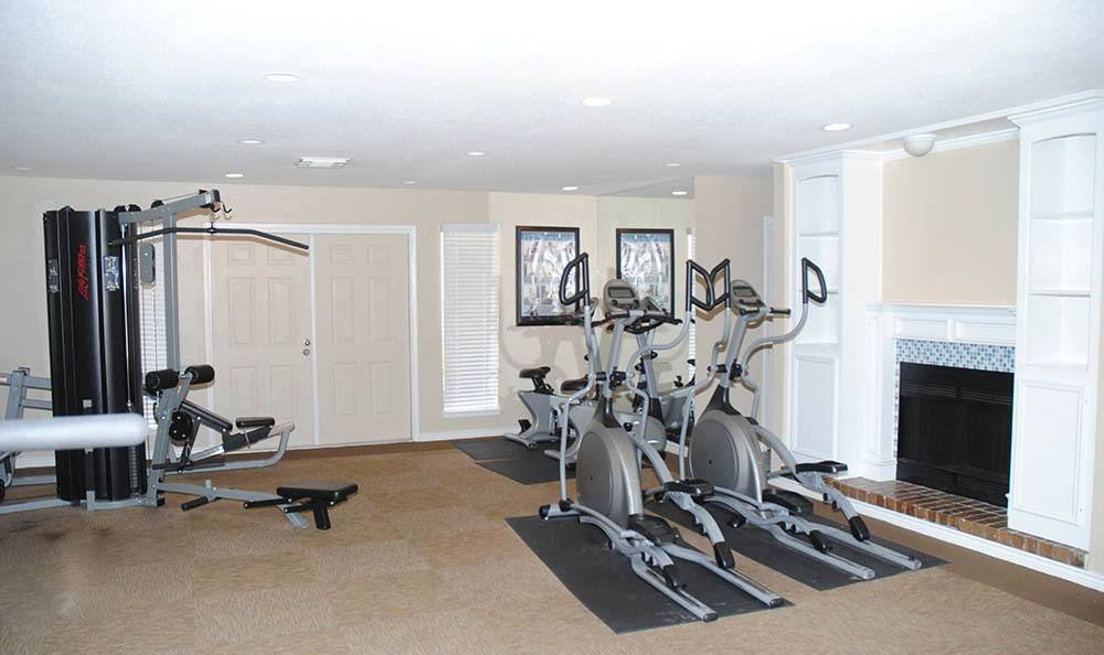 Stay in shape at our fitness center at our wonderful apartment community in Bay City, TX