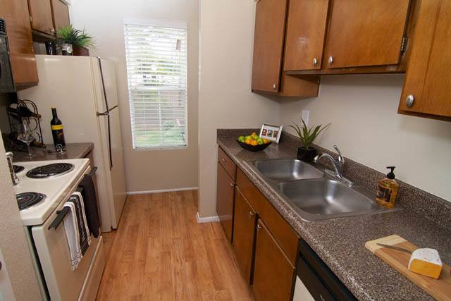 Additional kitchen option at Applewood Village Apartments