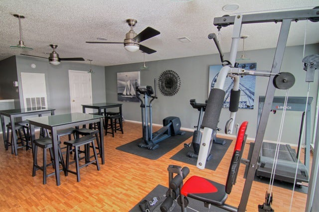 All you need for a good workout at Century Park Apartments in Houston
