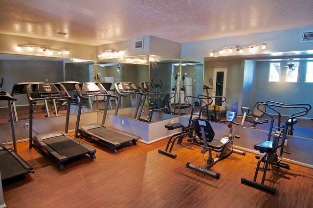 Fitness Center at St. Gregory's Beach Apartments in Houston