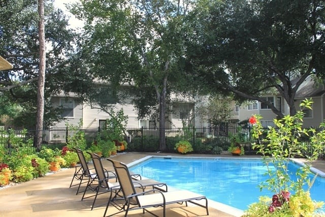 Pool and at Windsong Village Apartments in Spring