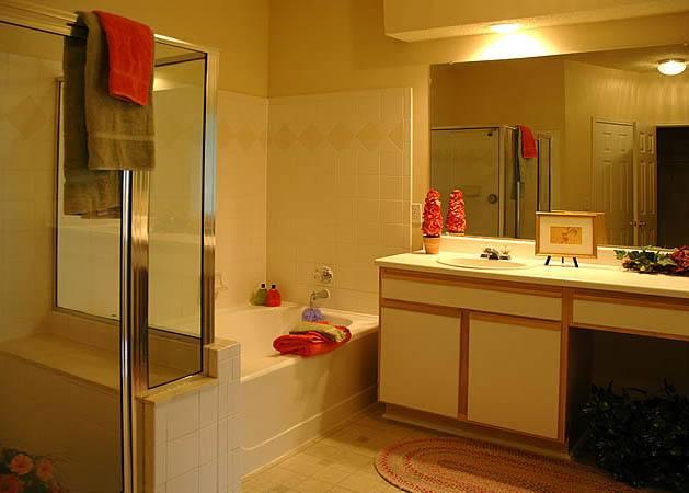 Bathroom at apartments in Birmingham, AL