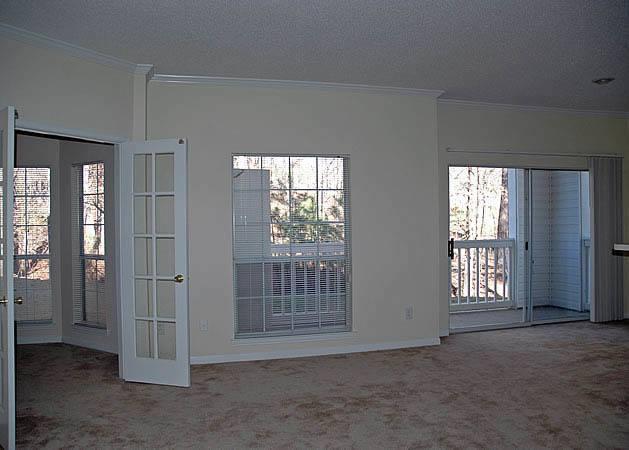 Open floor plans at Kenley Apartments