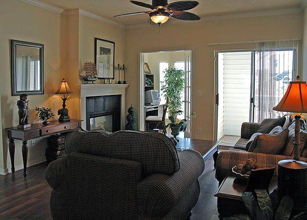 Hardwood floors at apartments in AL