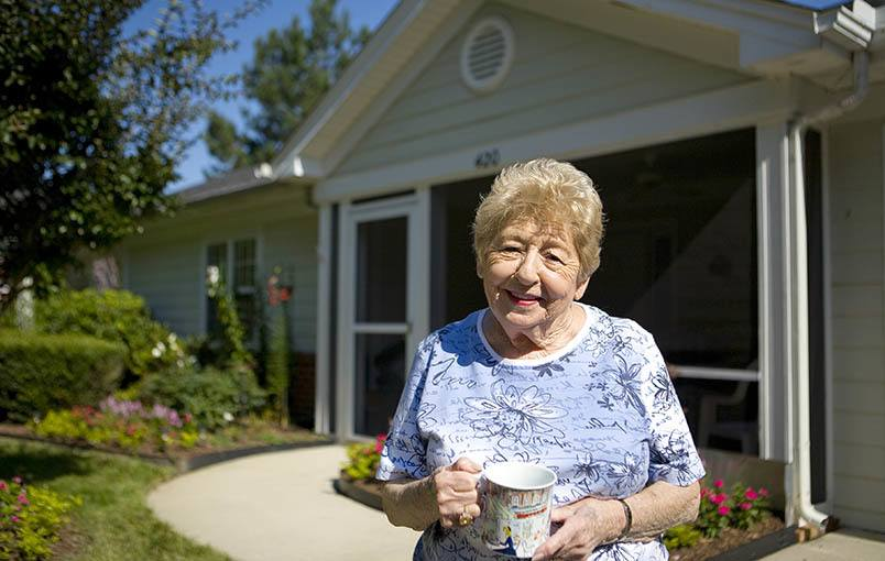 View our independent living cottages at Kisco Senior Living