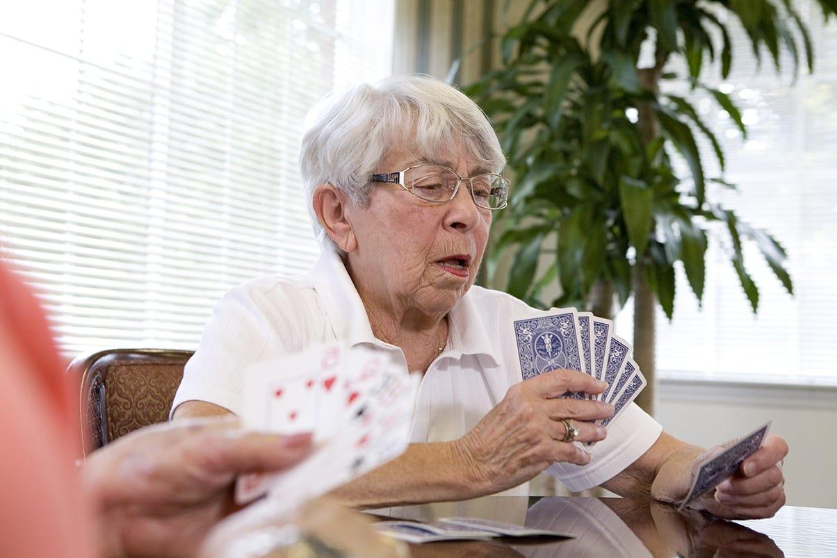 Bridge Groups At Senior Living In Greensboro North Carolina