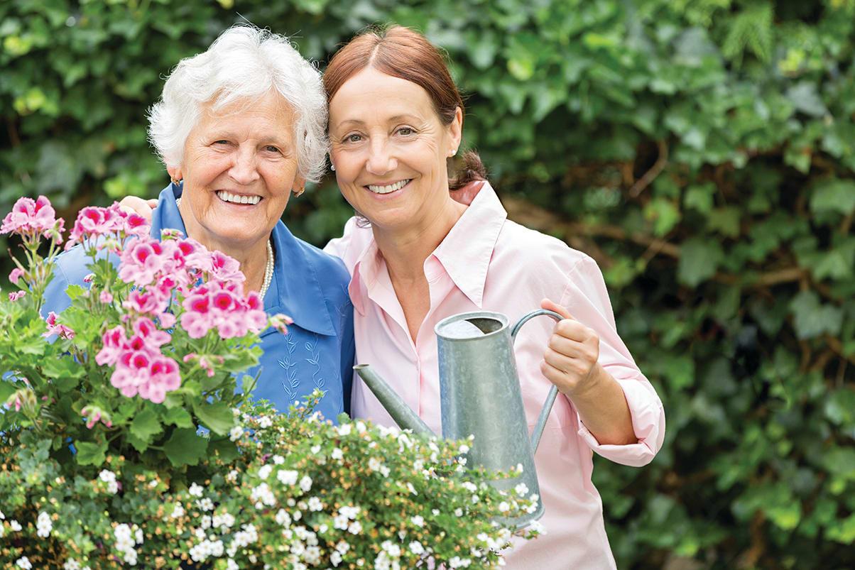 Gardening At Senior Living In Greensboro North Carolina