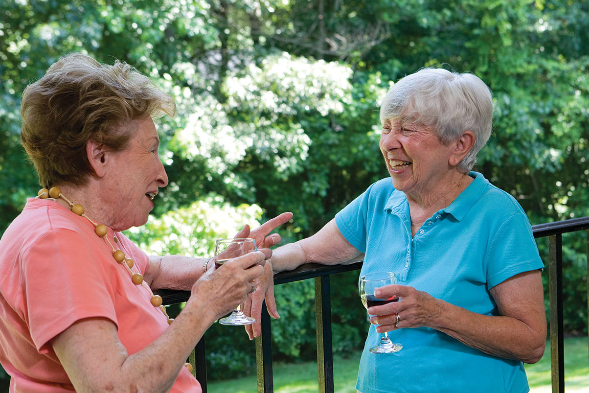 Relax With Friends At Senior Living In Greensboro North Carolina