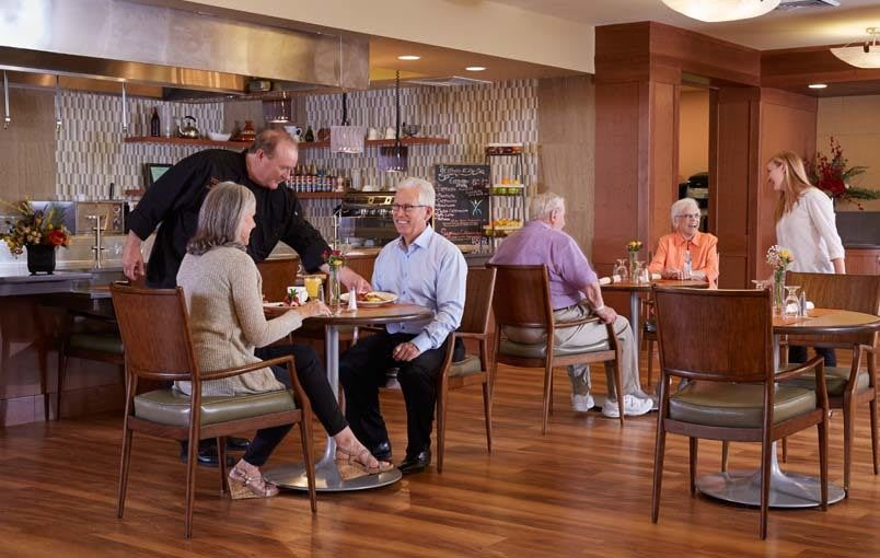 Wonderful services and amenities at the senior living community in South Jordan