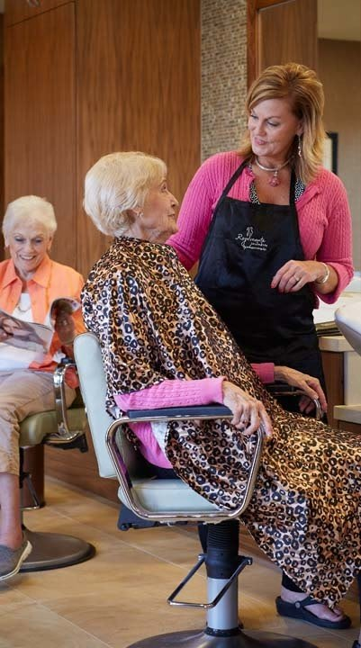 South Jordan senior living has wonderful services and amenities that are right for you