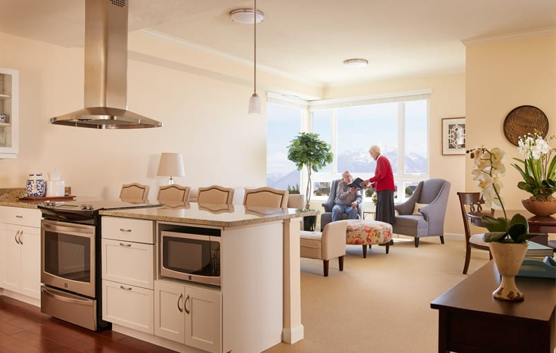 Different floor plans at the senior living community in South Jordan
