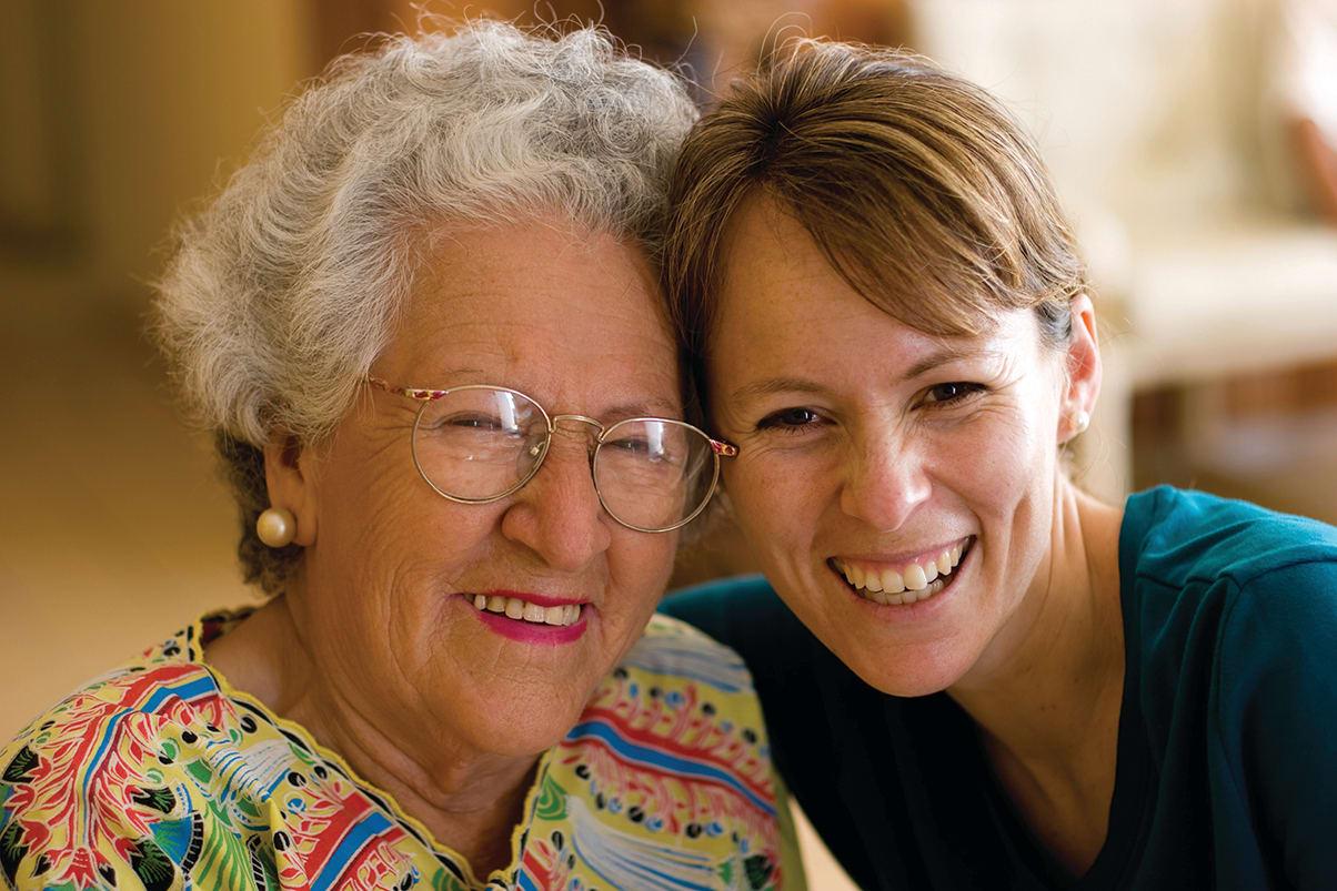 Caring staff at the senior living in San Rafael, California