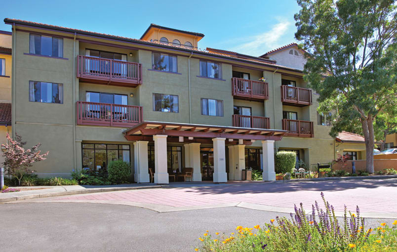 Different floor plans at the senior living community in San Rafael
