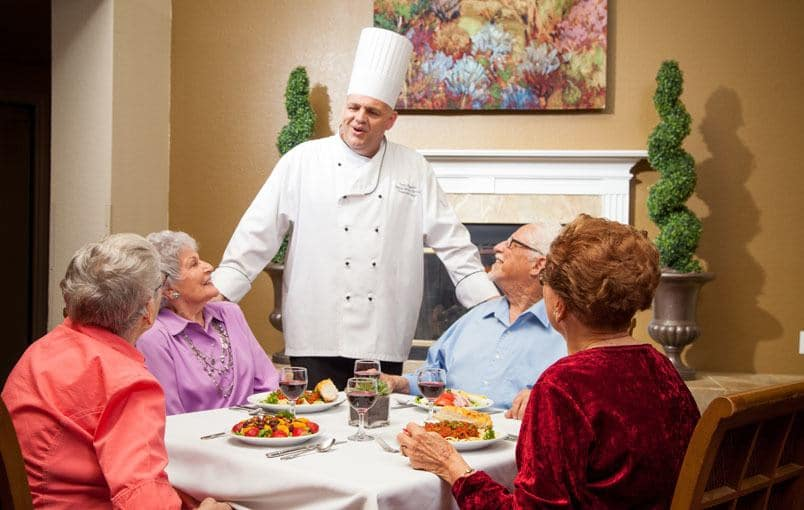 View our Senior Living at Emerald Court