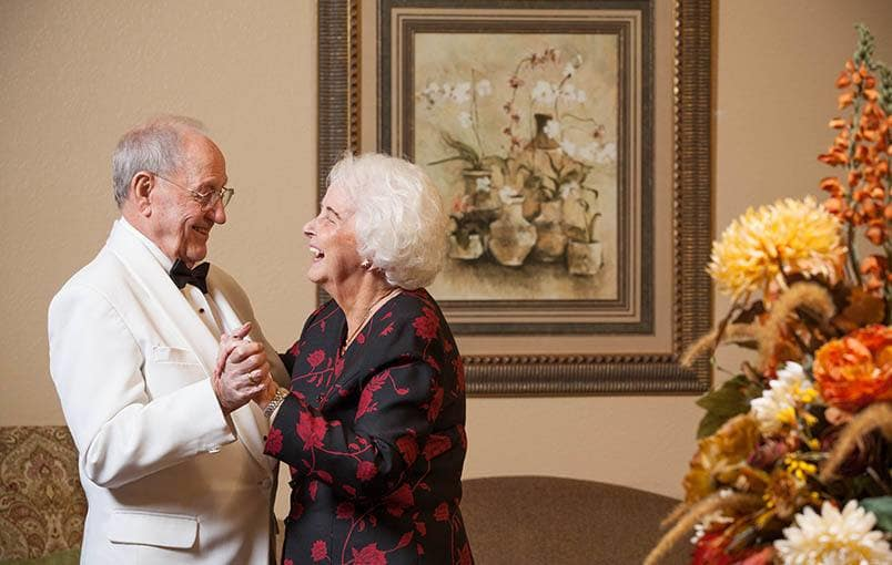 View our community offerings for senior living at Emerald Court