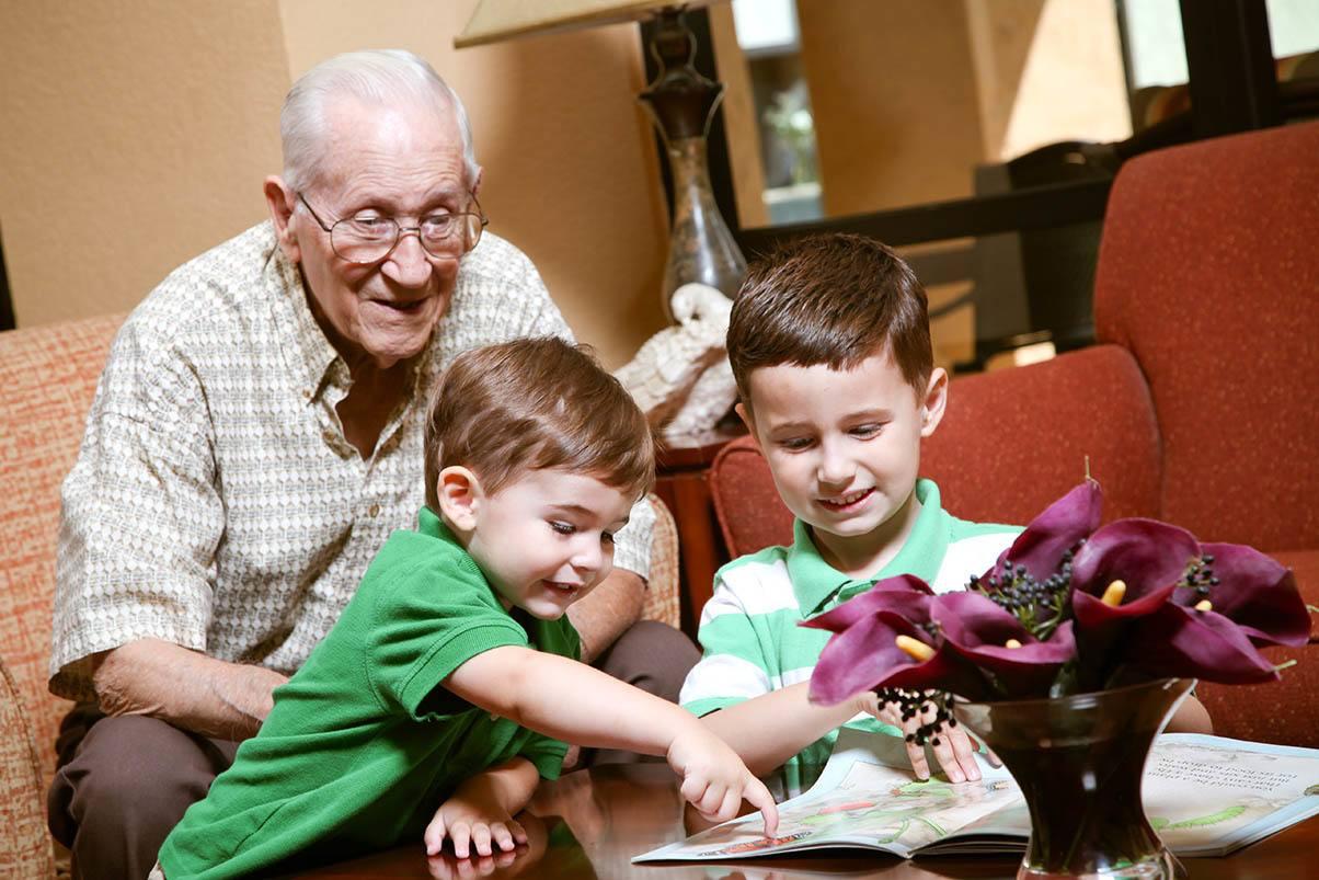 Family Visits At Senior Living In Greensboro North Carolina