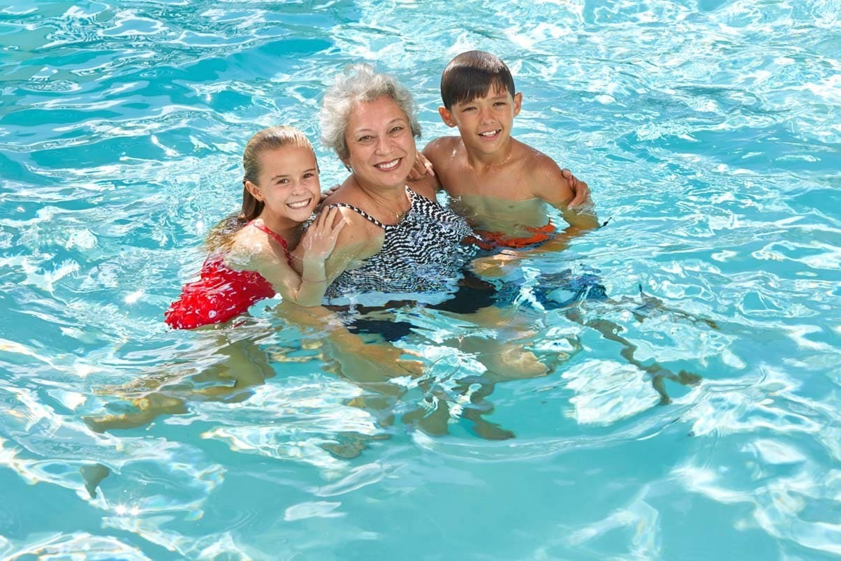 Grandkids can enjoy the pool at Ilima at Leihano