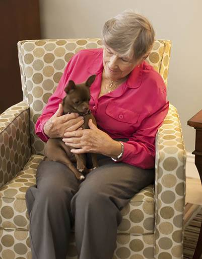 Living and care options for the senior living community in Raleigh
