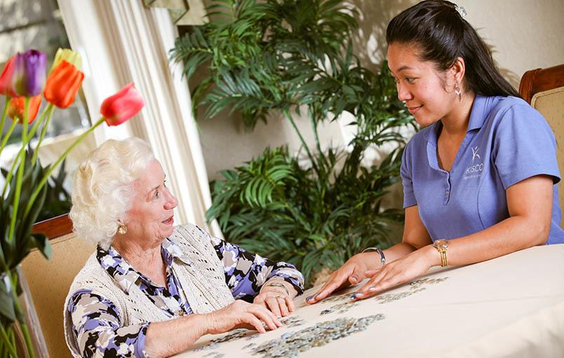 A wonderful community experience at the senior living community in Orange