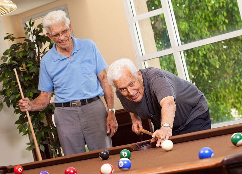 View our community offerings for senior living at Park Plaza