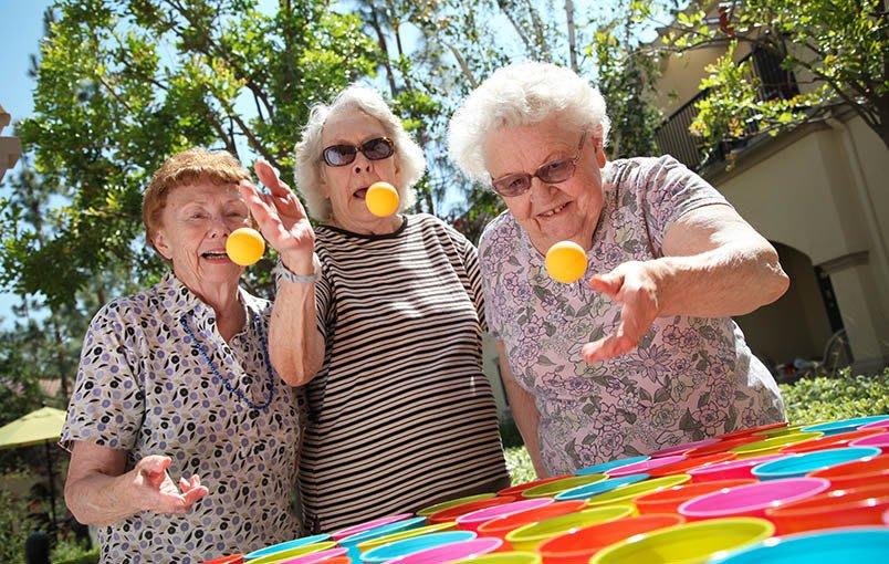 A wonderful community experience at the senior living community in Rancho Santa Margarita
