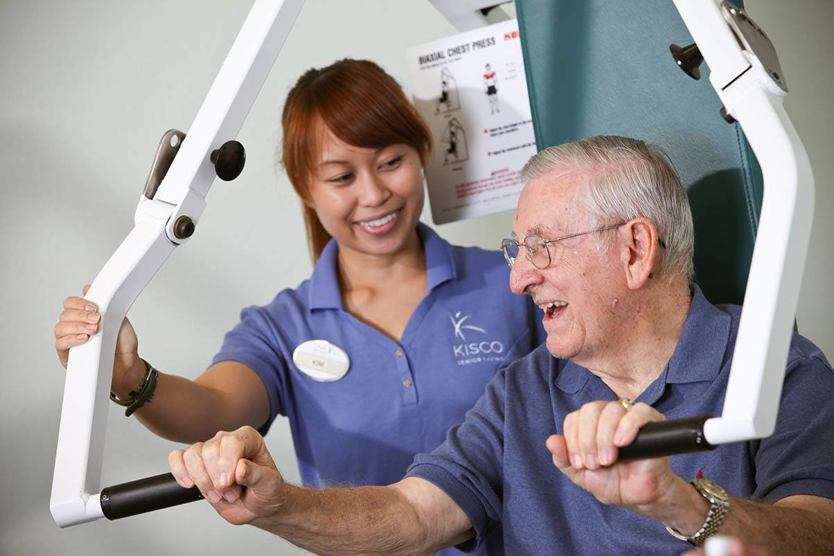 Exercise is key at Park Terrace Senior Living