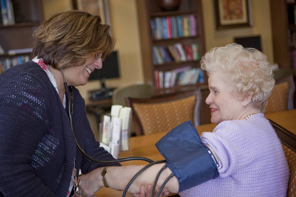Many health care options are available at Valencia Terrace