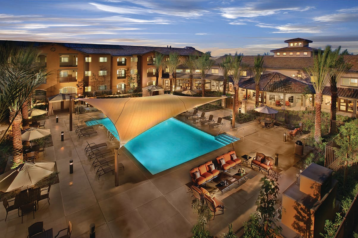 Enjoy our fabulous pool at Valencia Terrace