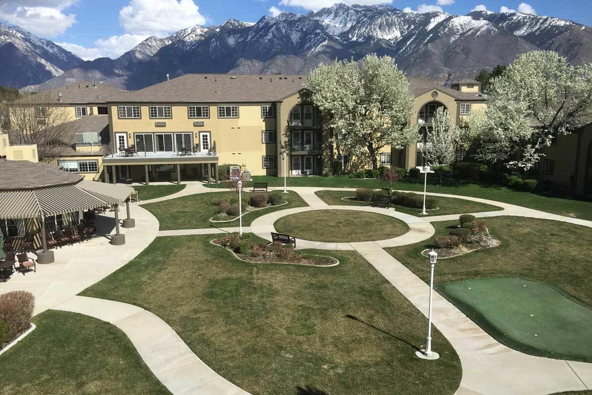 The Courtyard at Cedarwood