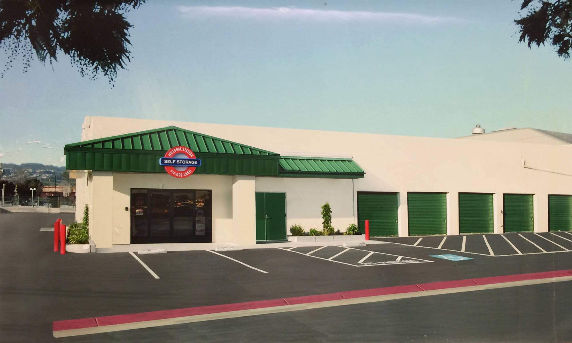 Self storage in Millbrae