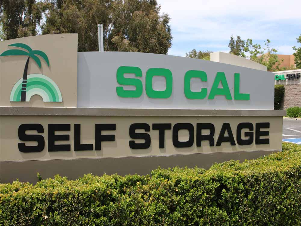 Welcome to SoCal Self Storage