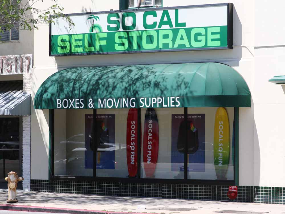 Front office at SoCal Self Storage in Sherman Oaks, CA