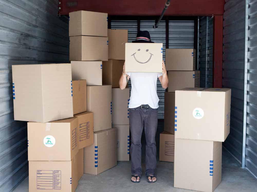 Free moving truck at SoCal Self Storage
