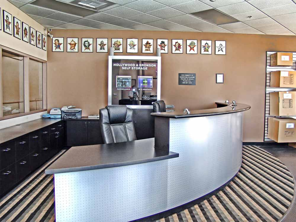 Front office at SoCal Self Storage