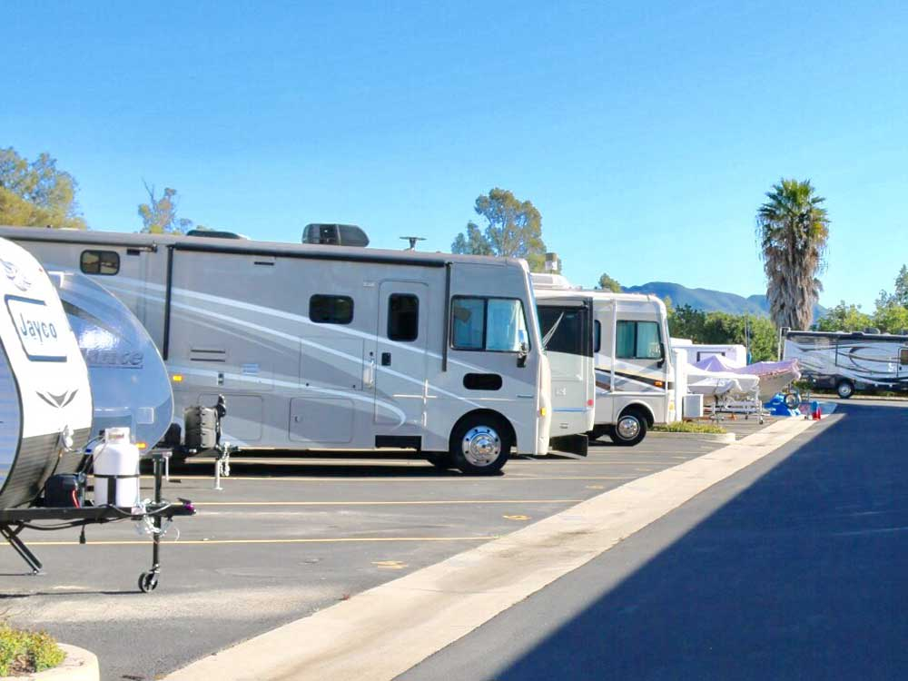 Rv parking at SoCal Self Storage