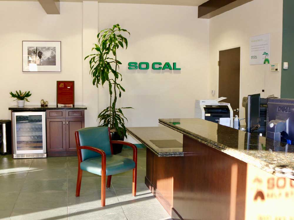 Office at SoCal Self Storage