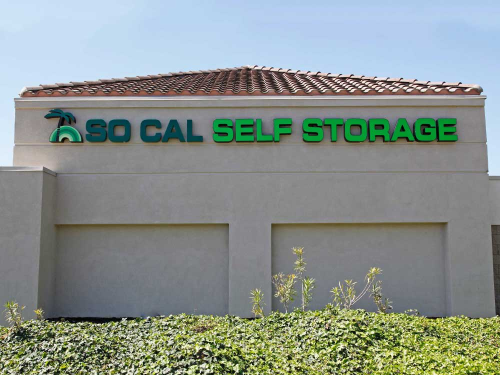 Building at SoCal Self Storage